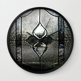Frosted Transparency Wall Clock