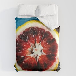 Blood Orange Comforters