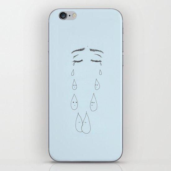 tears iPhone & iPod Skin