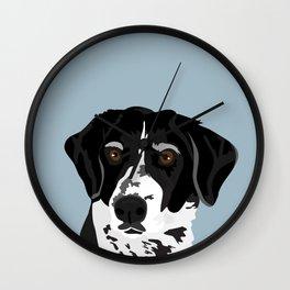 Riley Hound Wall Clock