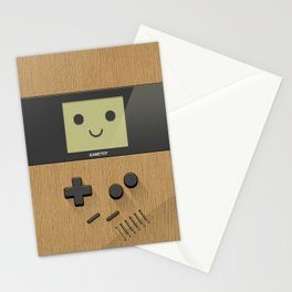 GAMETOY - Wooden         Game Boy, toy, wood, Gameboy Stationery Cards