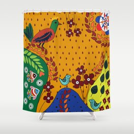 Pattern X Shower Curtain