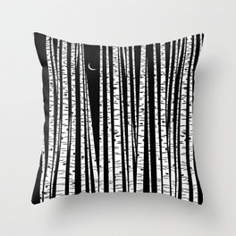 See the Forest Throw Pillow