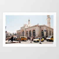 palestine Art Prints featuring Ramallah, Palestine by ear2ear