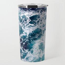 Ocean by Lika Ramati Travel Mug