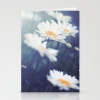 daisies Stationery Cards featuring Daisies by Kameron Elisabeth