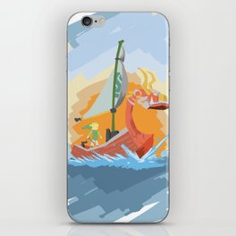 King of Red Lions. iPhone Skin