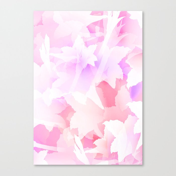 Sweet flowers Canvas Print