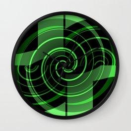 Mint & Licorice Fudge Wall Clock