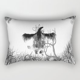 Phoenix of Ash Rectangular Pillow