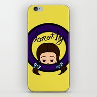 dorothy iPhone & iPod Skins featuring Dorothy by Nightmare Productions
