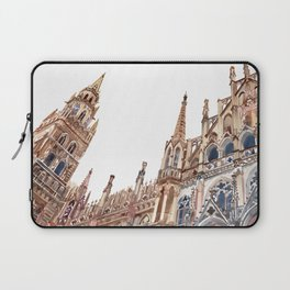 New Town Hall in Munich Laptop Sleeve