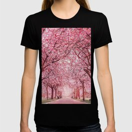 Cherry Blossom in Greenwich Park T-shirt