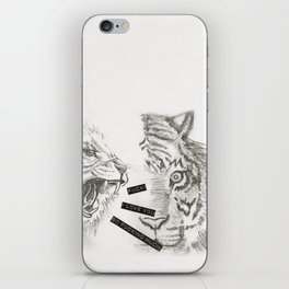Fuck! I love you so fucking much! iPhone Skin