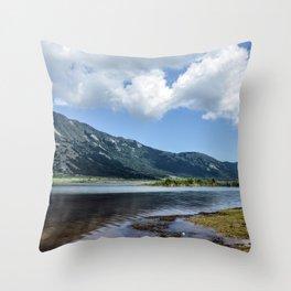 Matese Lake Throw Pillow