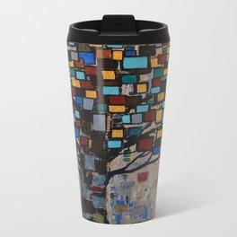 :: Stained Glass Tree :: Travel Mug