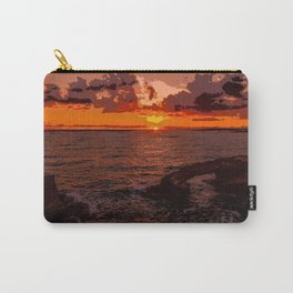 Travel to Sunset 02 Carry-All Pouch