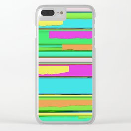 Side streets 2 Clear iPhone Case