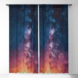 Radiating Milky Way Blackout Curtain