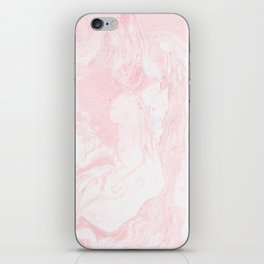 Pink Marble iPhone Skin