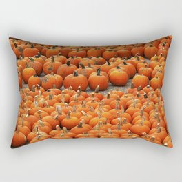 More than a peck of pumpkins at Peck's Produce Farm Market! Rectangular Pillow