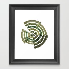 Exploded view camouflage Framed Art Print