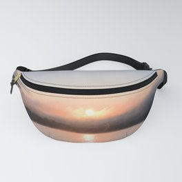 Reborn: Sunrise on Lake George Fanny Pack