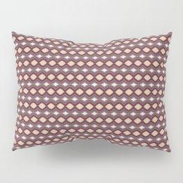 Handcrafted Diamonds Claret Pillow Sham