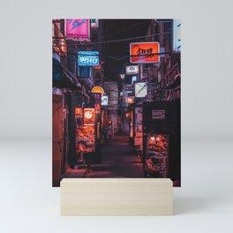 Golden Gai Tokyo Bar Crawl Mini Art Print