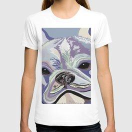French Bulldog Denim Colors T-shirt