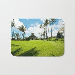 Lanakila 'ihi'ihi O Iehowa O Na Kaua Church Keanae Maui Hawaii Bath Mat