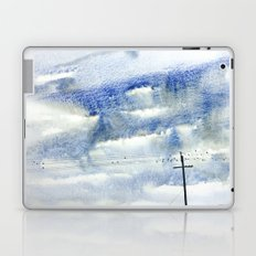 Bird on a wire Laptop & iPad Skin