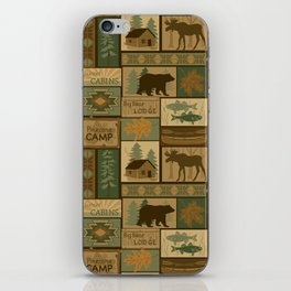 Big Bear Lodge iPhone Skin