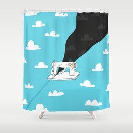 Sew a better world Shower Curtain
