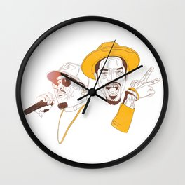 Andre 3000 and Big Boi Wall Clock