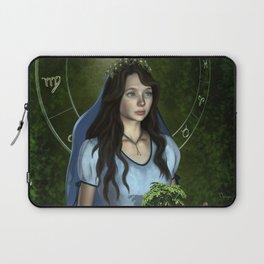 Virgo zodiac fantasy Laptop Sleeve