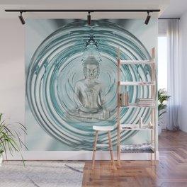 Serenity Meditation Bubble Wall Mural