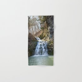 Alone in Secret Hollow with the Caves, cascades, and Critters, No.4 of 21 Hand & Bath Towel