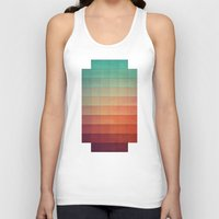 sunset Tank Tops featuring cyvyryng by Spires