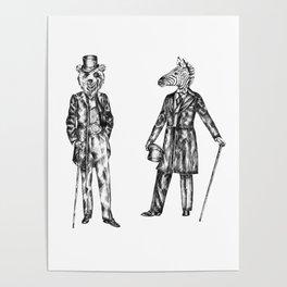 "Brix and Bailey ""Good Morning Sir"" Poster"