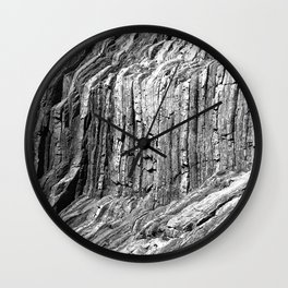 Flowing Cliffs Wall Clock
