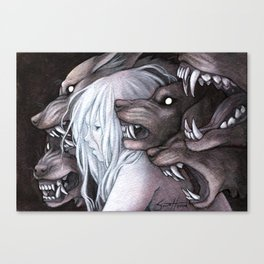Stray Witch Canvas Print
