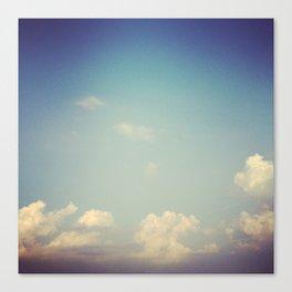 Sky Study - 19 Canvas Print