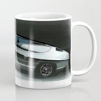 lamborghini Mugs featuring Lamborghini Espada by Vadim Artemyev