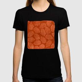 Miquiztli - Aztec Terra Cotta Print T-shirt