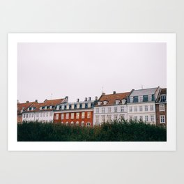 Copenhagen Homes Art Print