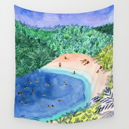 French Paradise Wall Tapestry