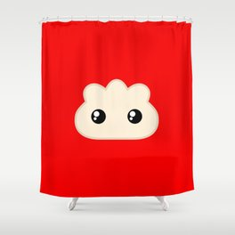 Pocket Pork Dumpling Shower Curtain
