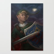 Link -- The Adventurer Canvas Print