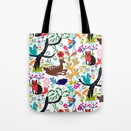 Forest Fairytale Tote Bag